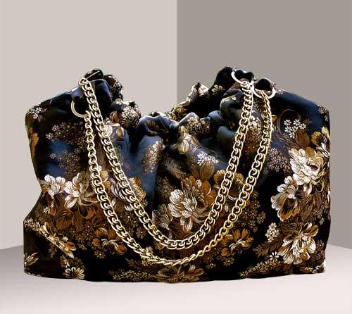 žensku torbu