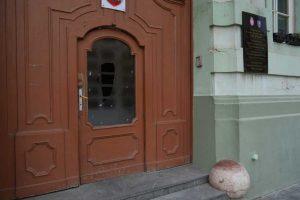 Oštećena vrata Gradske kuće
