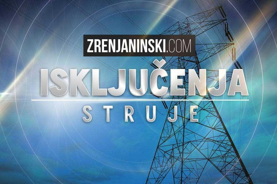 Elektrodistribucija Zrenjanin isključenja struje