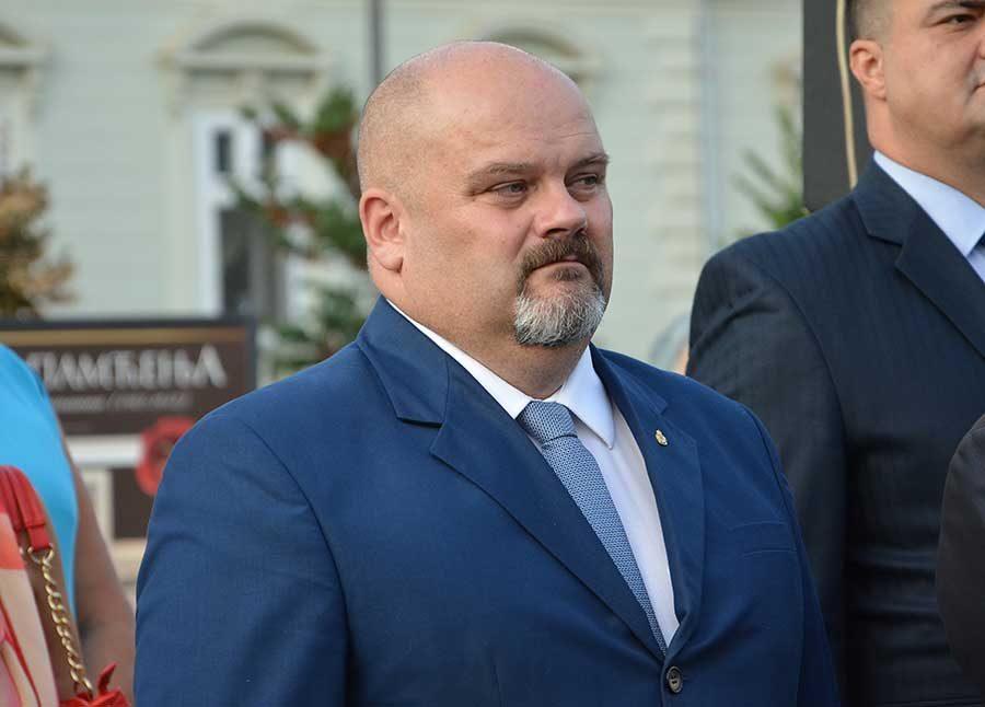 gradonačelnik Zrenjanina Čedomir Janjić