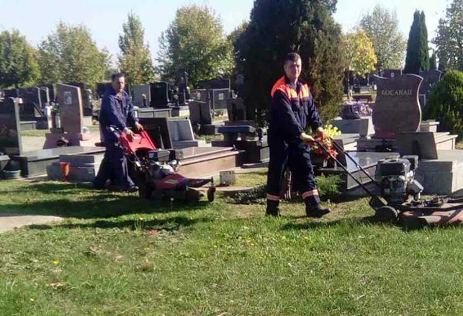 groblje čistoća i zelenilo