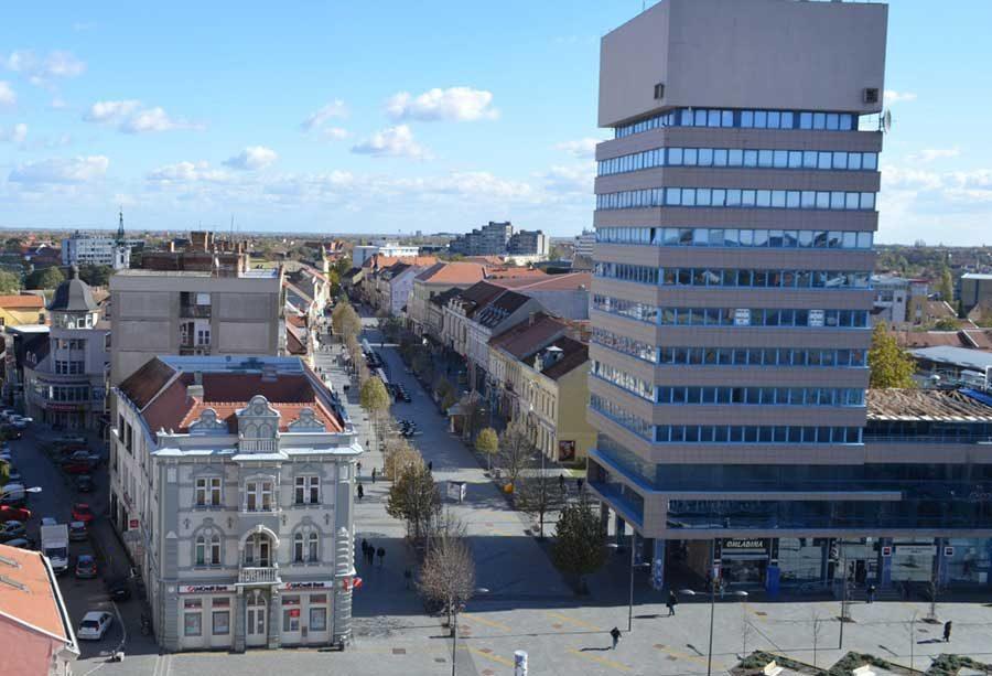 centar grada zrenjanina