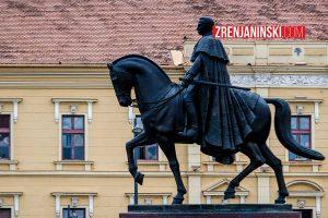 Spomenik kralju Petru u centru grada