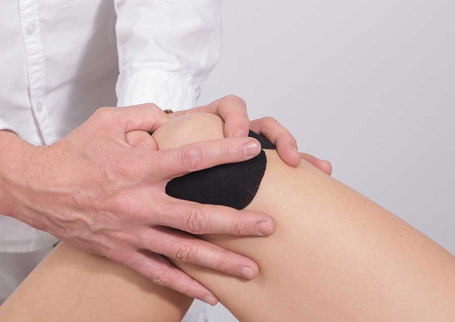 koleno fizio medik