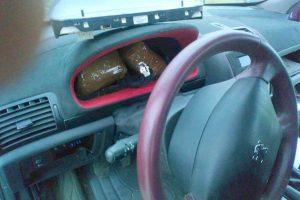 marihuana u automobilu