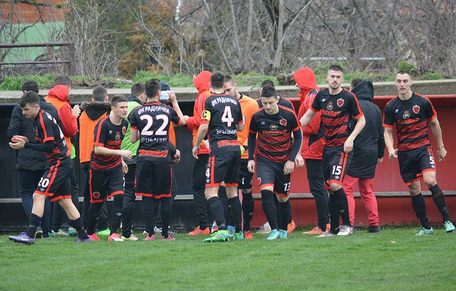 FK Bratstvo FK Radnički