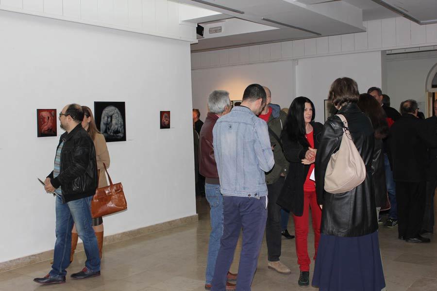 Izložba slika umetnika Marka Tubića