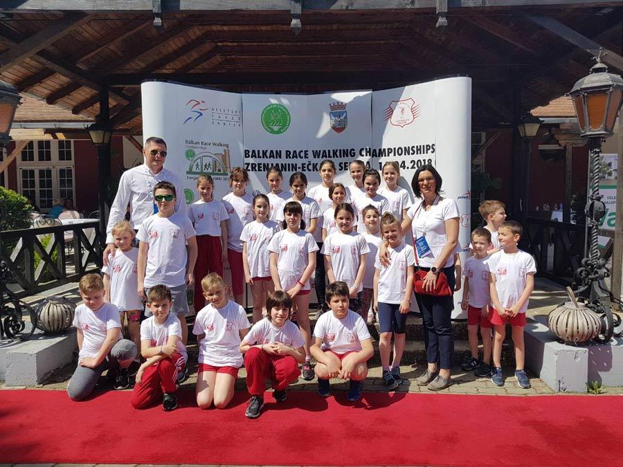 Prvenstvo Balkana u hodanju na putu