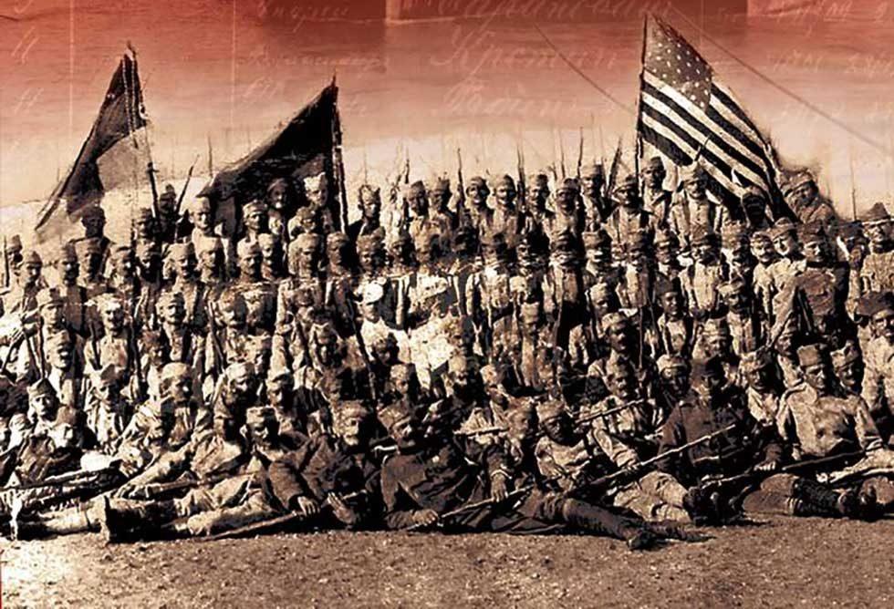 Amerikanci srpski dobrovoljci iz SAD 1914 - 1918