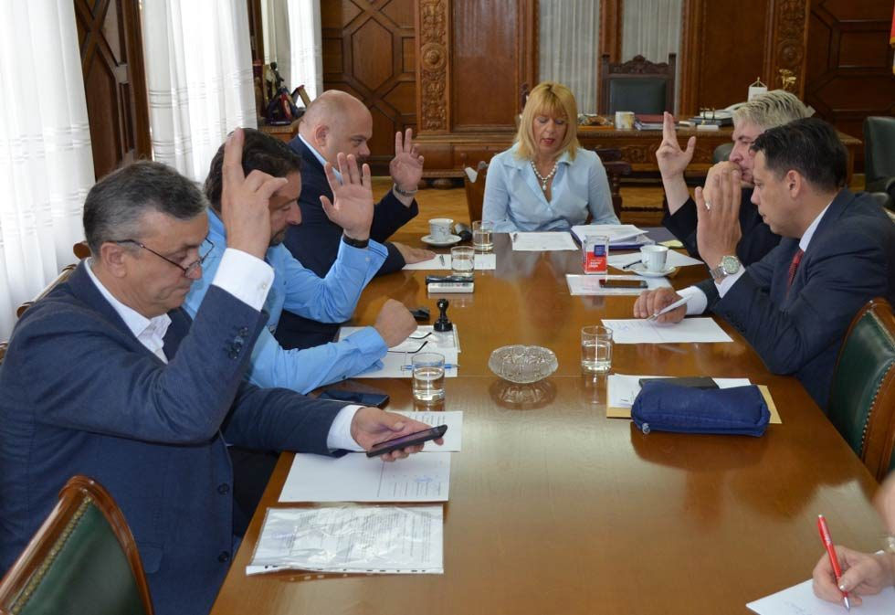Sednica Srednjobanatskog upravnog okruga
