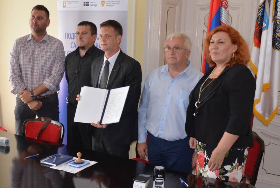 sporazum pet lokalnih samouprava