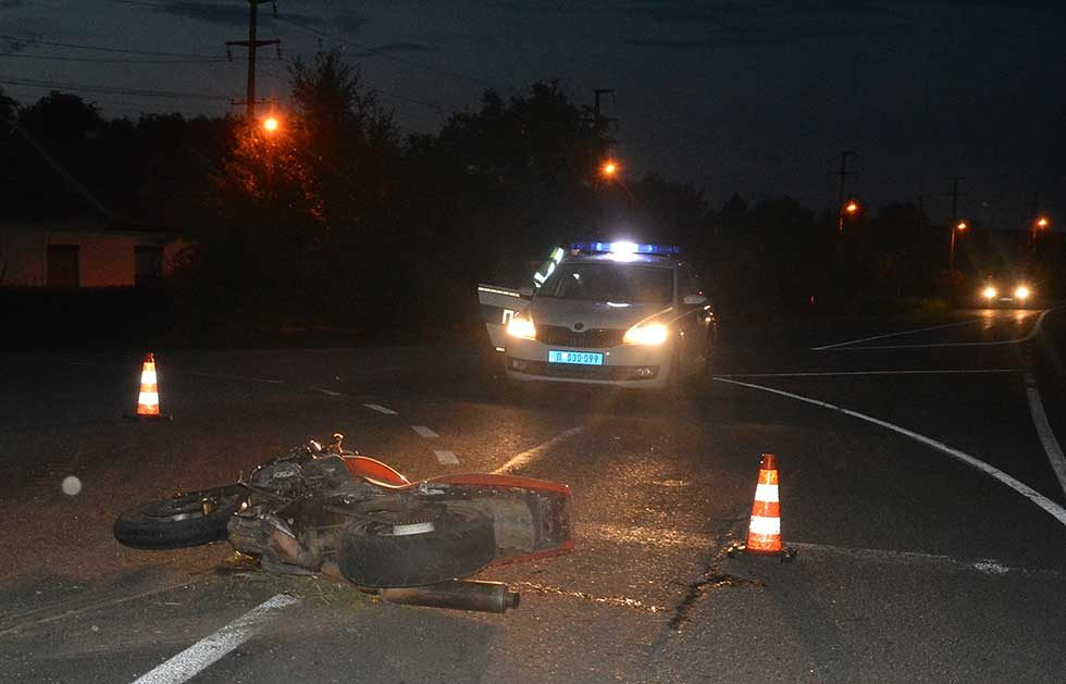 motociklista saobraćajna nezgoda