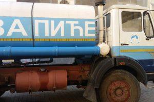 cisterna sa pijaćom vodom