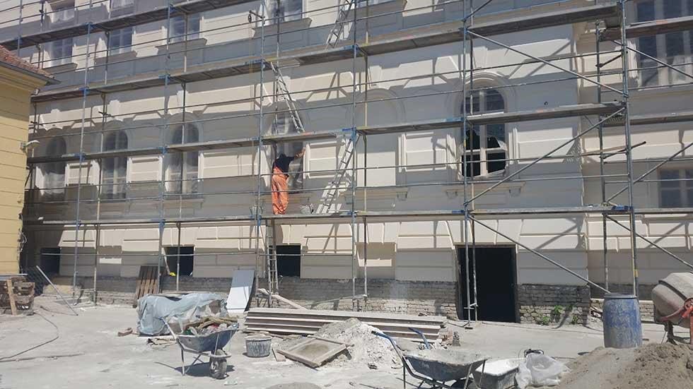 Radovi na zgradi bivše Medicinske škole
