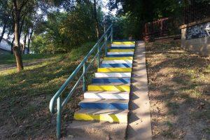 Stepenice u Plankovoj bašti