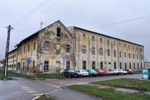 bivši koncentracioni logor u zrenjaninu