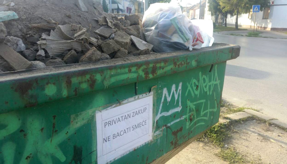 kontejner za kabasti otpad