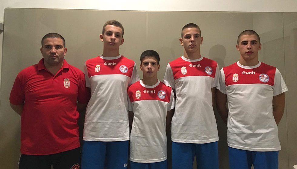 Reprezentacija Srbije u rvanju