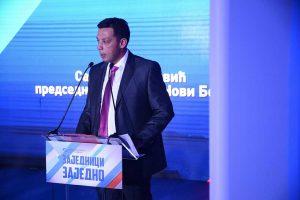 Predsednik opštine Novi Bečej Saša Maksimović
