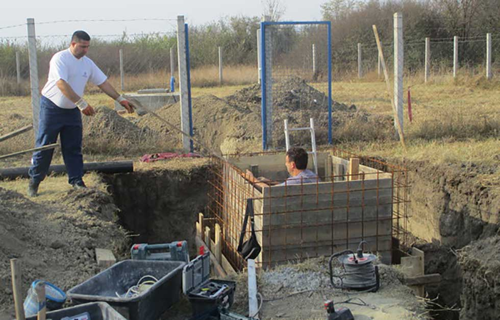 izgradnja dela vodovodne mreže u Tomaševcu