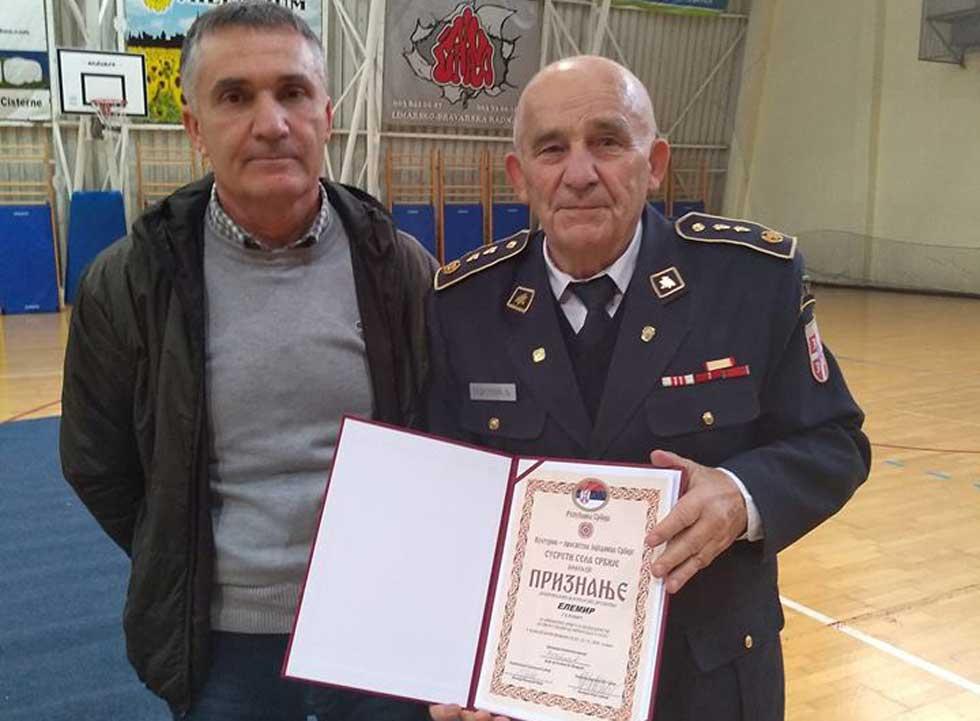 Dobrovoljno vatrogasno društvo Elemir