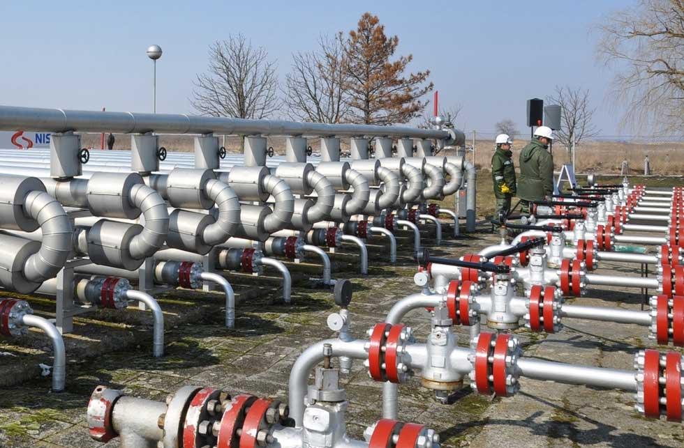 Kapacitet podzemnog skladišta gasa u Banatskom Dvoru