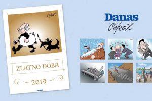 Promocija kalendara sa karikaturama