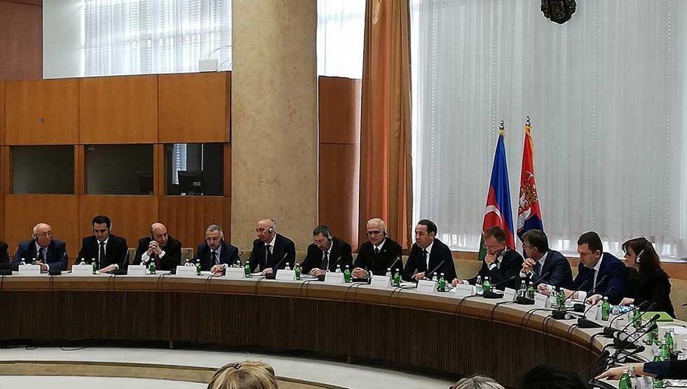 međuvladina komisija srbije i azerbejdžana