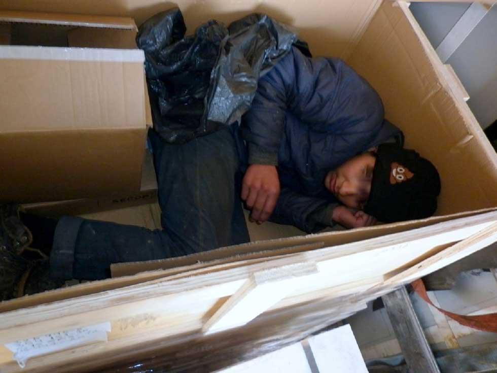 Šleper zrenjaninskih registracija prevozio migranta