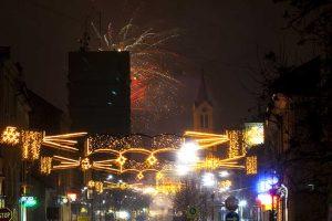 Doček Nove godine na Trgu slobode