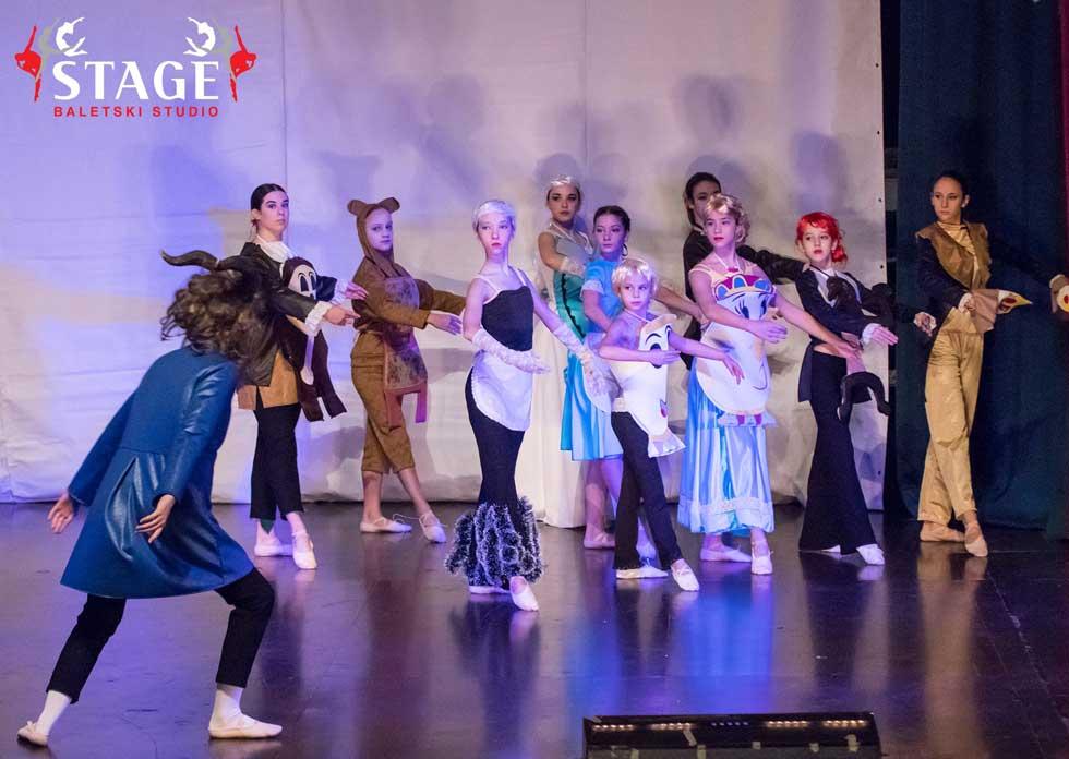 baletska predstava lepotica i zver