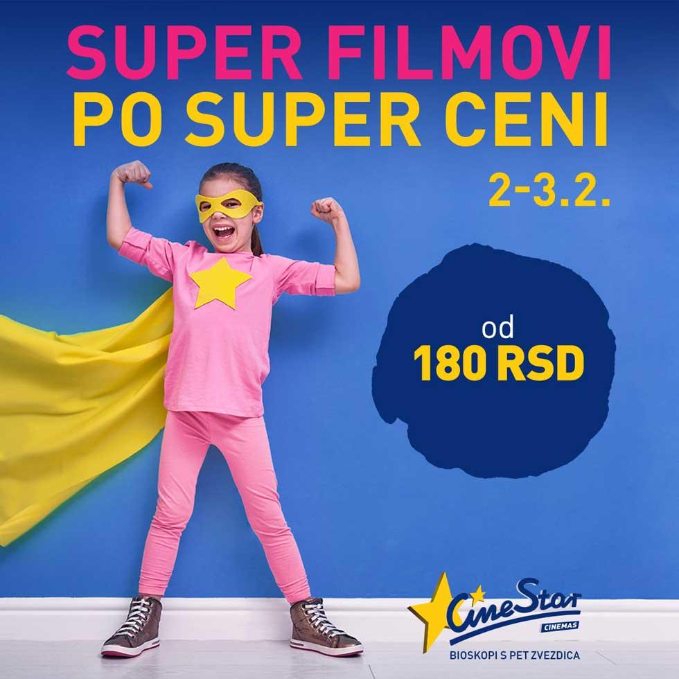 cinestar super filmovi