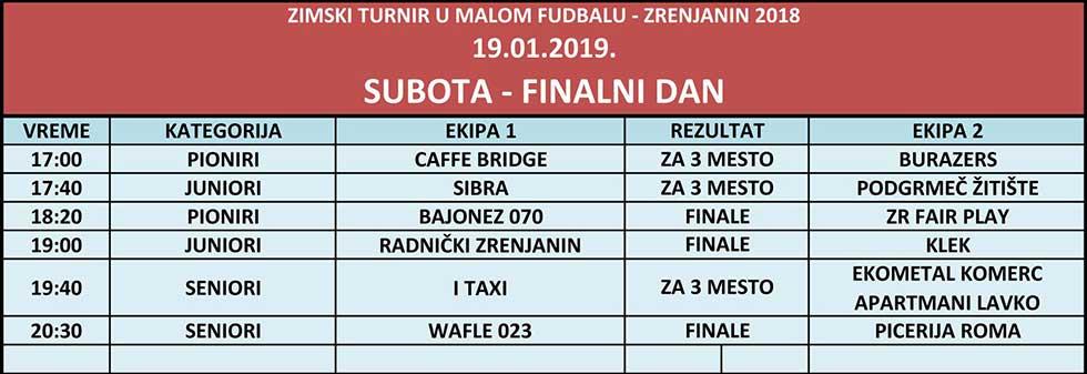 finale zimski turnir u malom fudbalu