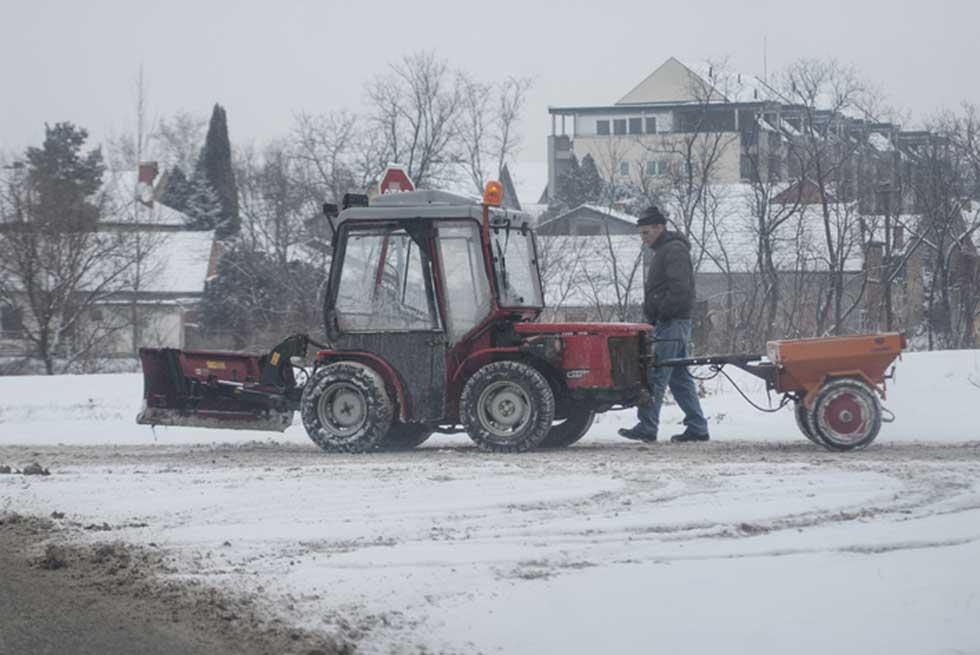 Putevi u Zrenjaninu i okolnim mestima su prohodni