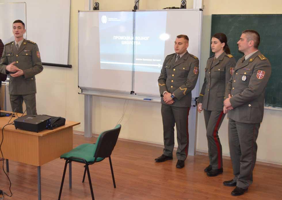 promocija vojnog školstva