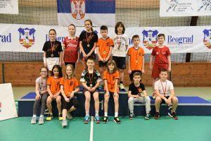 zrenjaninski đaci badminton turnir