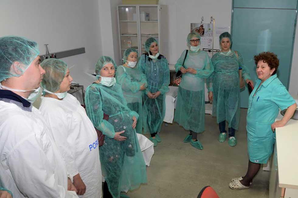 akušerski odsek zrenjaninske bolnice