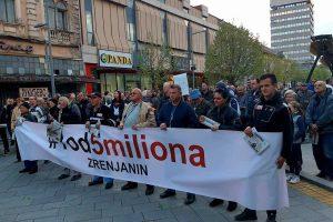 deseti protest 1 od 5 miliona