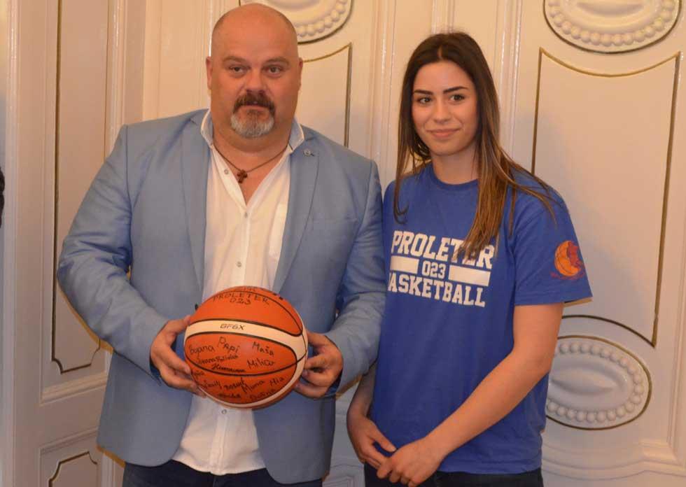 ženski košarkaški klub proleter 023