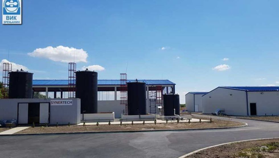 postrojenje za preradu vode