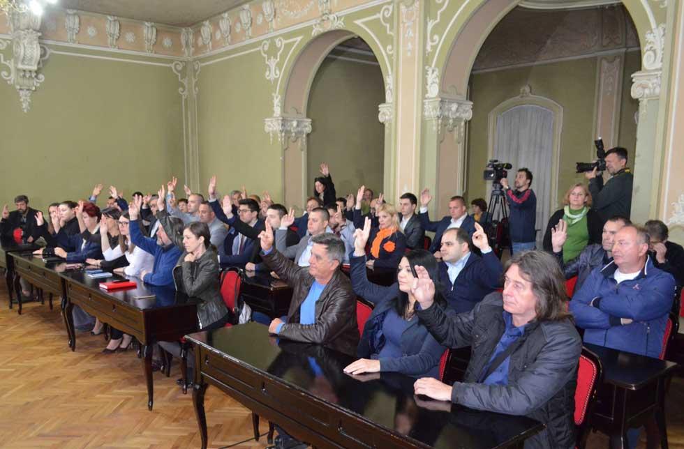 sednice skupštine grada
