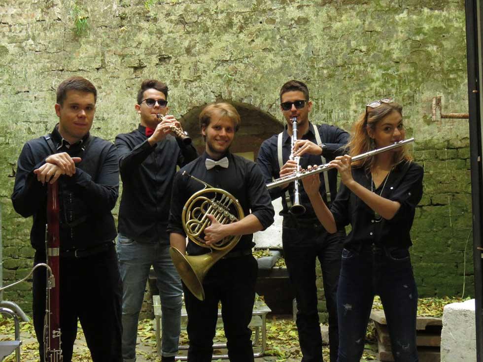 duvački kvintet madam