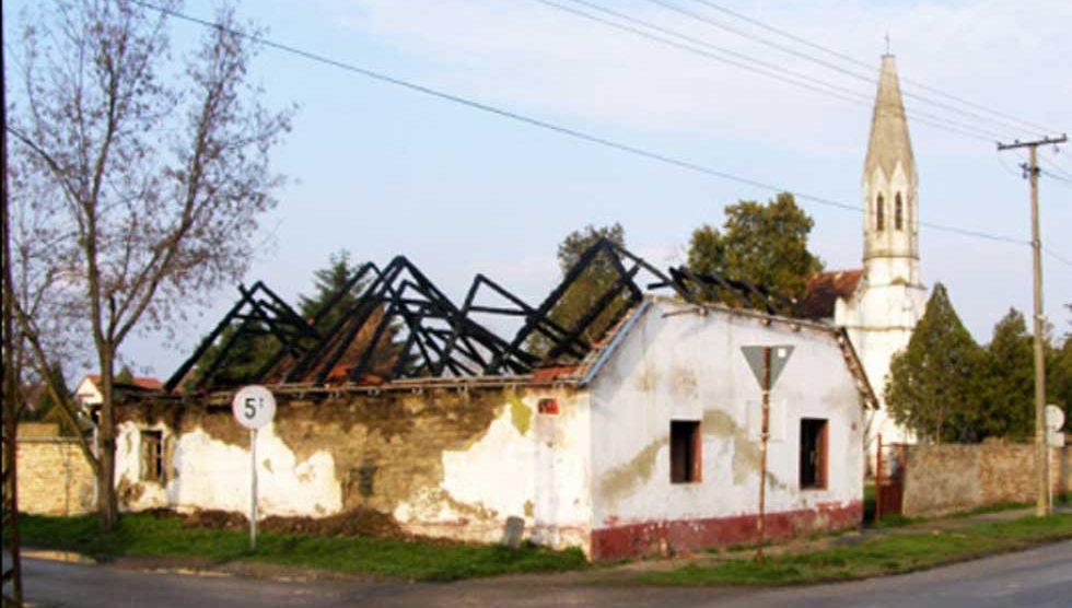 srušena kuća