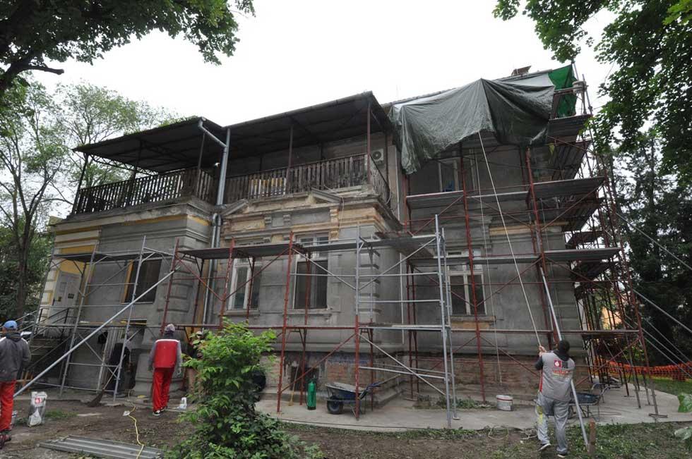 rekonstrukcija vrtića vila