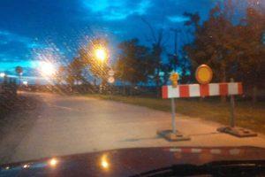 obustavljen saobraćaj