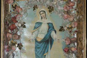 ikona sa predstavom bogorodice