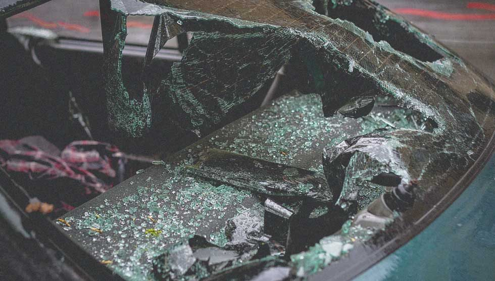 u saobraćajnoj nesreći