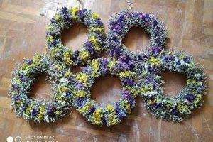 venci od ivanjskog cveća