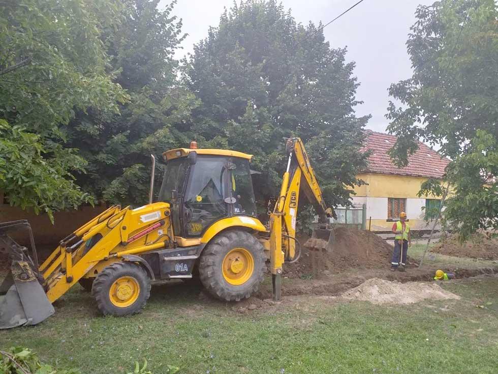 izgradnja kanalizacione mreže u elemiru