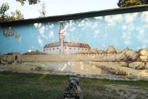 mural bečkerečka tvrđava